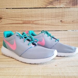 00263cfac3516 Nike Shoes - Nike Roshe One Run 511881-036 Pink Green Grey